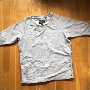 Barbour 3/4 sleeve sweatshirt, size 6